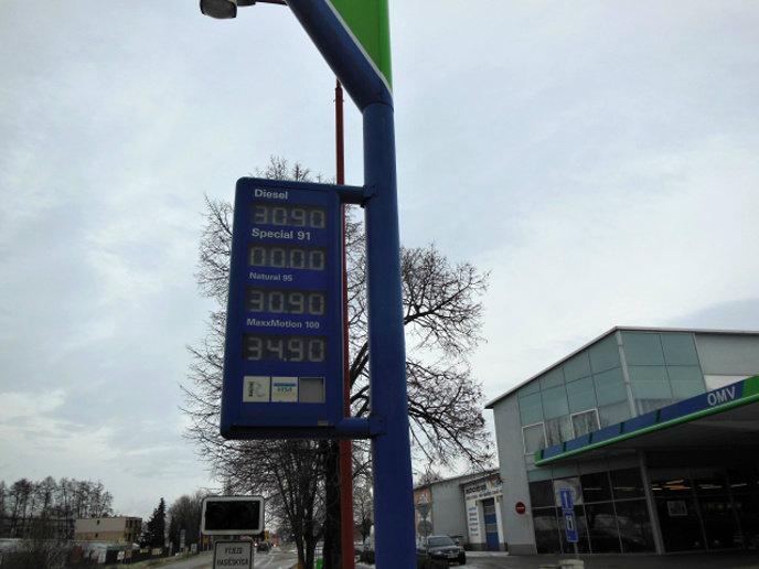 Zrcadlo: Víme, kde je nejlevnější benzín a nafta na okrese